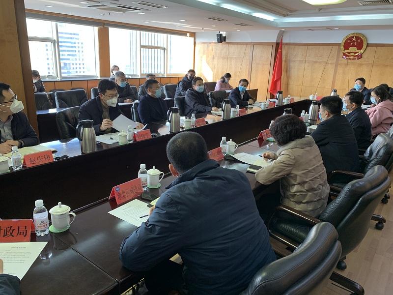 市北区委副书记、区长张永国会见中国中铁股份有限...